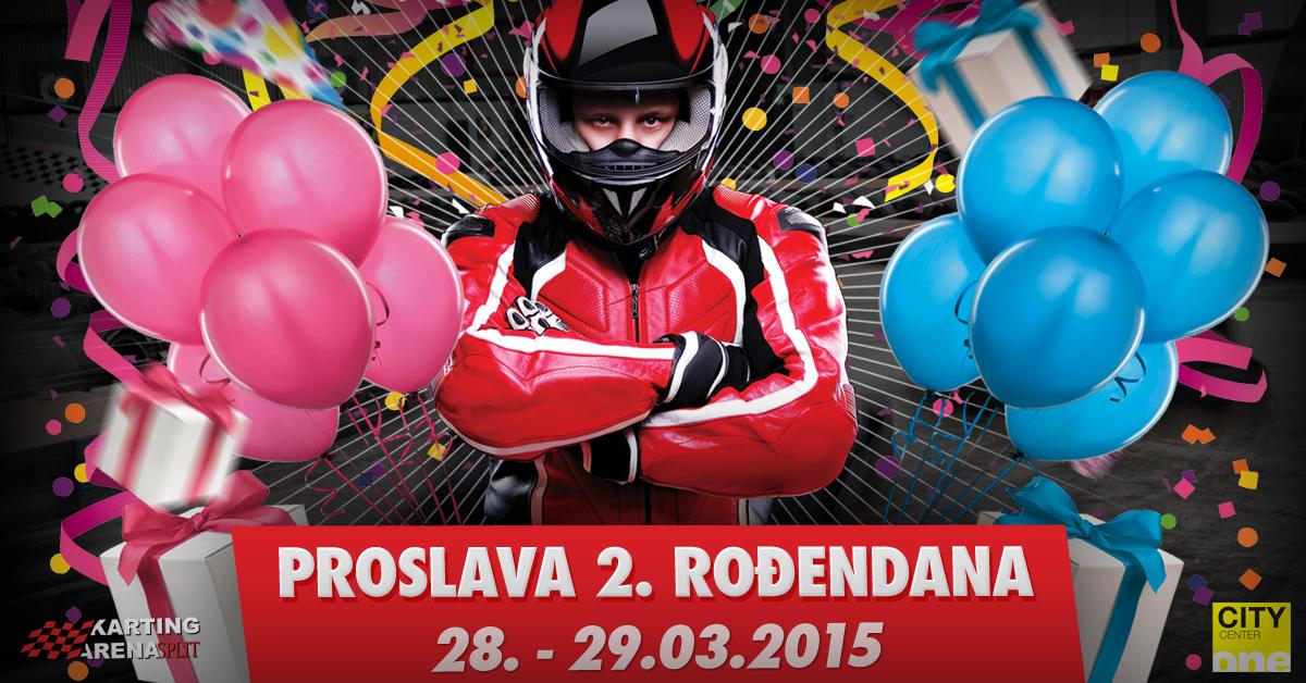 arena slavi rođendan Karting Arena Split slavi svoj drugi rođendan!   Karting Arena  arena slavi rođendan